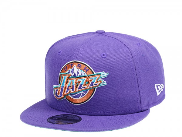 New Era Utah Jazz Hardwood Classic Edition 9Fifty Snapback Cap