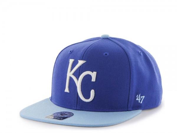 47Brand Kansas City Royals Sure Shot Captain Two Tone Snapback Cap