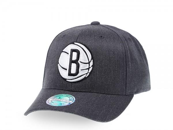 Mitchell & Ness Brooklyn Nets Heather Pop Edition 110 Flex Snapback Cap