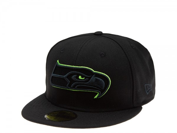 New Era Seattle Seahawks Green Action 59Fifty Fitted Cap