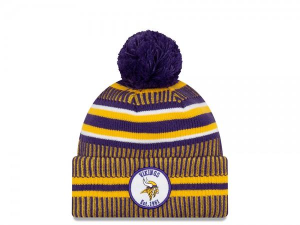 New Era Minnesota Vikings Sideline 2019 Home Mütze