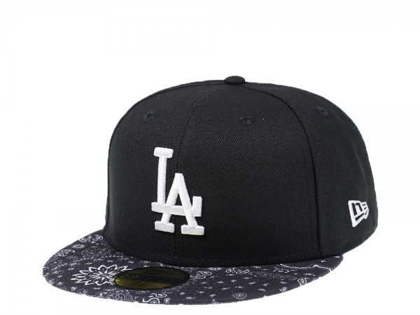 New Era Los Angeles Dodgers Bandana Edition 59Fifty Fitted Cap