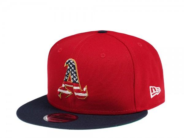 New Era Oakland Athletics 4th July Edition 9Fifty Snapback Cap