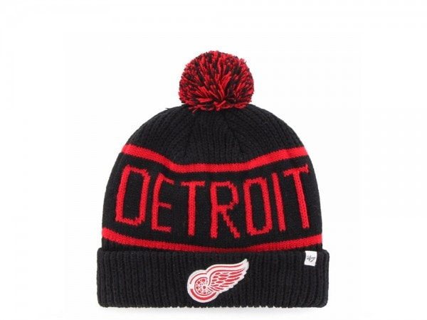 47 Brand Detroit Red Wings Calgary Cuff Mütze