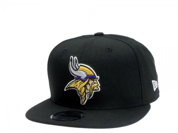 New Era Minnesota Vikings Black Edition 9Fifty Snapback Cap