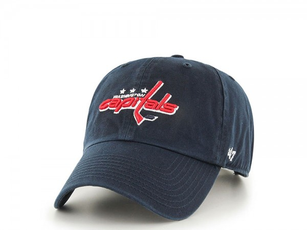 47Brand Washington Capitals Clean Up Strapback Cap