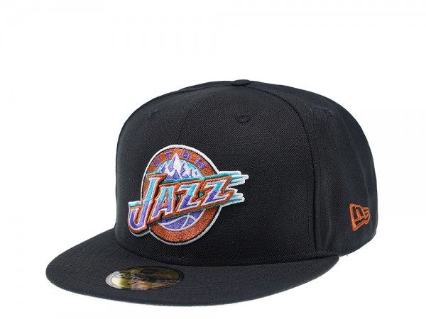 New Era Utah Jazz Classic Black Edition 59Fifty Fitted Cap