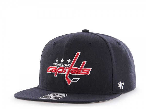 47Brand Washington Capitals Sure Shot Captain Snapback Cap