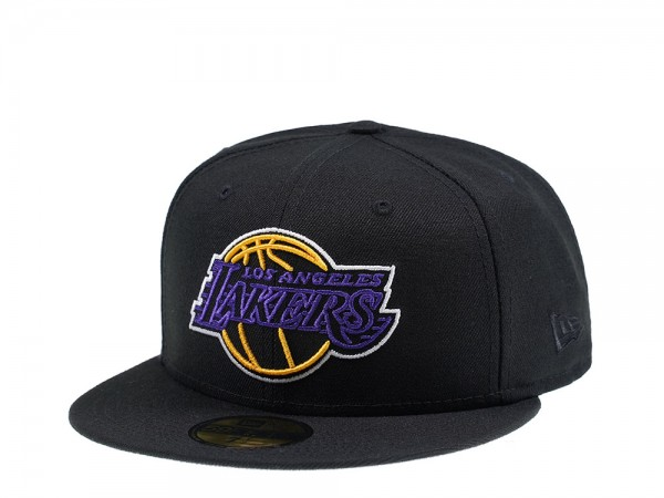New Era Los Angeles Lakers Pop Details 59Fifty Fitted Cap