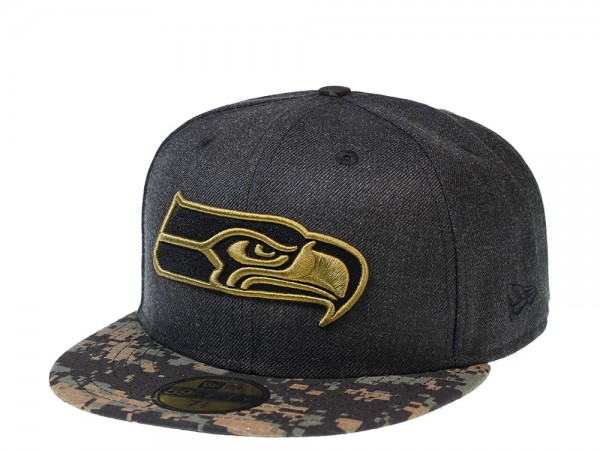 New Era Seattle Seahawks Digital Camo Edition 59Fifty Fitted Cap