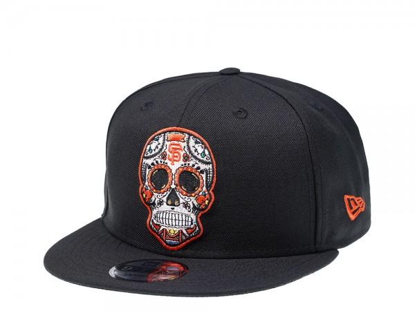 New Era San Francisco Giants Skull Edition 9Fifty Snapback Cap