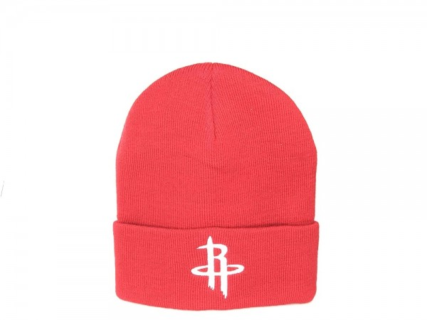 Houston Rockets Classic Beanie Mitchell & Ness