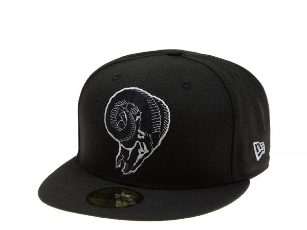 New Era Los Angeles Rams Throwback Logo 59Fifty Fitted Cap