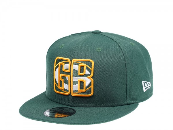 New Era Green Bay Packers Logo in Logo Edition 9Fifty Snapback Cap