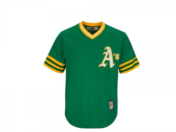Majestic Oakland Athletics Cool Base Cooperstown MLB Trikot
