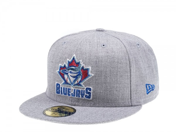 New Era Toronto Blue Jays Heather Gray Edition 59Fifty Fitted Cap