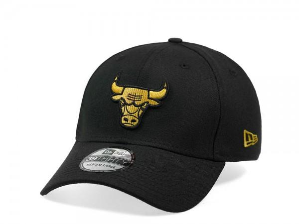New Era Chicago Bulls Gold Edition 39Thirty Stretch Cap