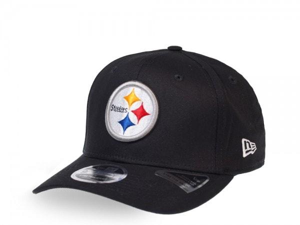 New Era Pittsburgh Steelers Black 9Fifty Stretch Snapback Cap