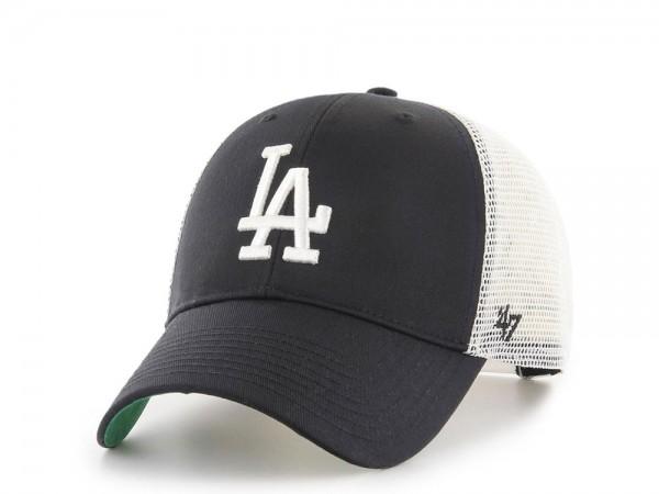 47Brand Los Angeles Dodgers MVP Black Trucker Snapback Cap
