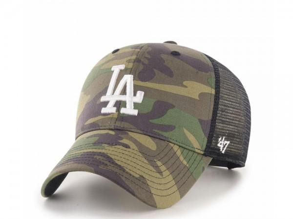 47Brand Los Angeles Dodgers MVP Camo Trucker Snapback Cap