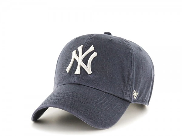 47Brand New York Yankees Clean Up Navy Strapback Cap