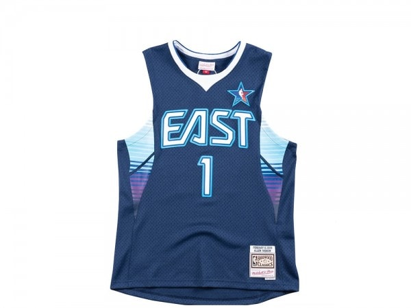 Mitchell & Ness All Star East 2009 Trikot - Allen Iverson Swingman Jersey