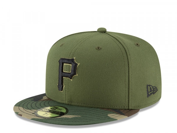 New Era Pittsburgh Pirates Alternate Authentic On-Field Fitted 59Fifty Cap