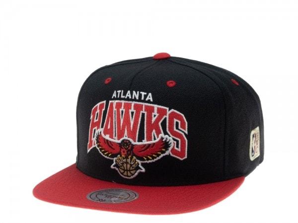 Mitchell & Ness Atlanta Hawks HWC Team Arch Snapback Cap