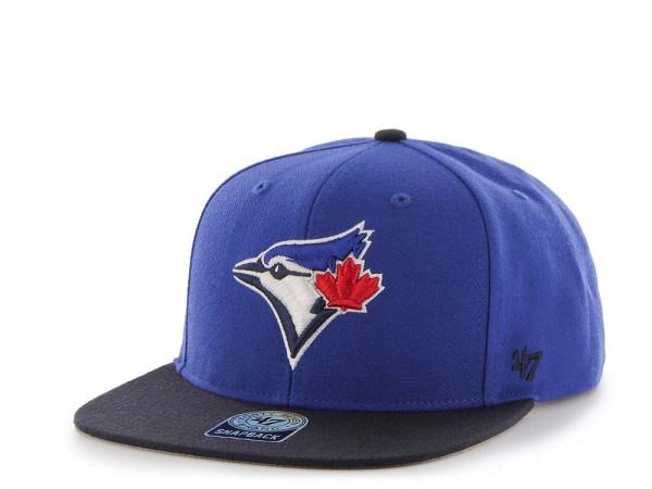 47Brand Toronto Blue Jays Sure Shot Captain Two Tone Snapback Cap