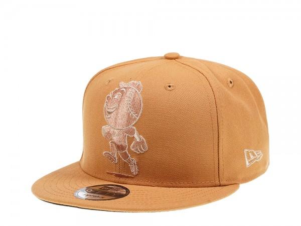 New Era New York Mets Mr Met Panama Tan Edition 9Fifty Snapback Cap