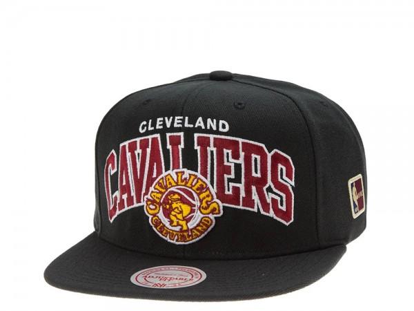 Mitchell & Ness Cleveland Cavaliers Team Arch black Snapback