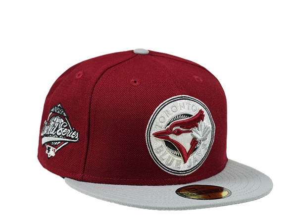 New Era Toronto Blue Jays World Series 1992 Canada Red 59Fifty Fitted Cap