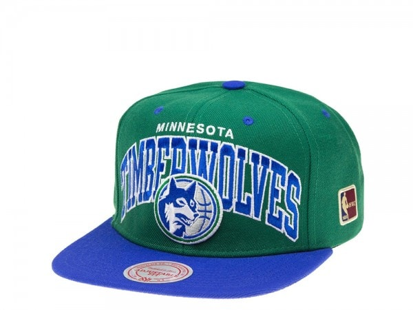 Mitchell & Ness Minnesota Timberwolves Team Arch Snapback Cap