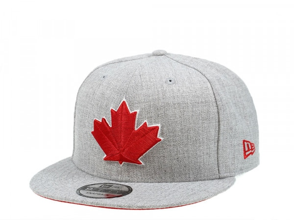 New Era Toronto Blue Jays Canada Heather Edition 9Fifty Snapback Cap